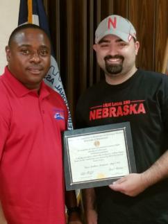 7/27/2018 Brother Stephen Kraning of LL 180 wins 2018 IAM Scholarship